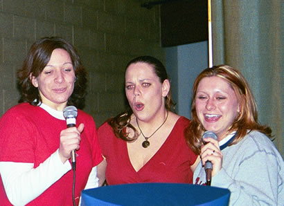 Shannon, Megan and Stephanie sing Coal Miner's Daughter by Loretta Lynn